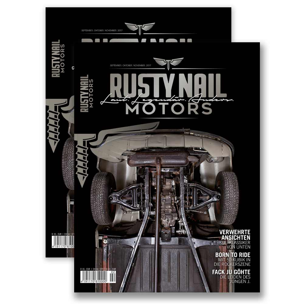 Rusty Nail Motors | Magazintitel 02-17