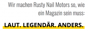 Rusty Nail Motors wie es sein muss