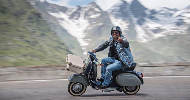 Alpenglühen über Sölden | Oetztaler-Mopedmarathon