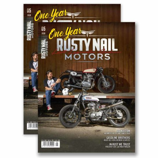 rusty nail motors | magazintitel 05-18